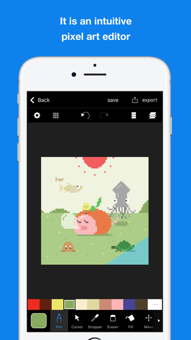 Top 10 Apps like Pixel art editor - Dottable - in 2019 for iPhone & iPad