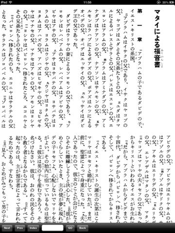 VB21 口語訳聖書+KJV - náhled