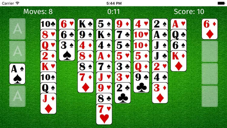 FreeCell ++ Solitaire Cards screenshot-3