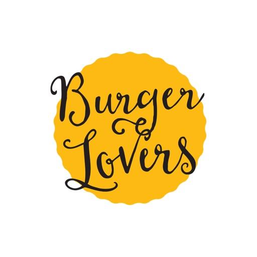 Burger Stickers