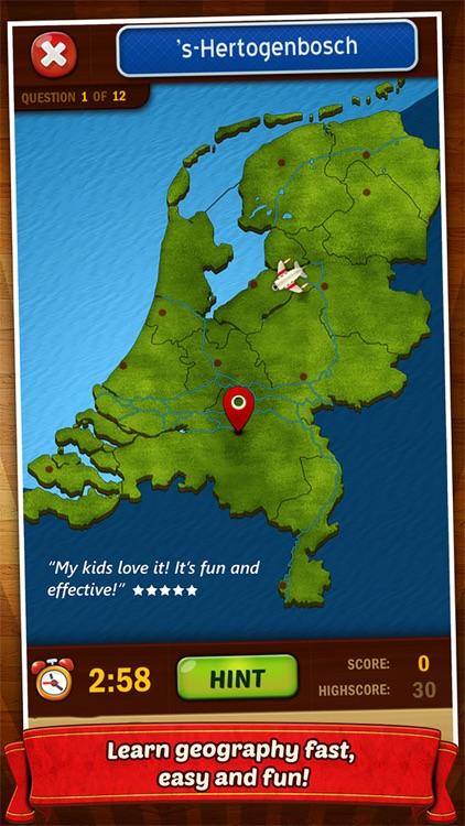 GeoFlight Netherlands Pro screenshot-0