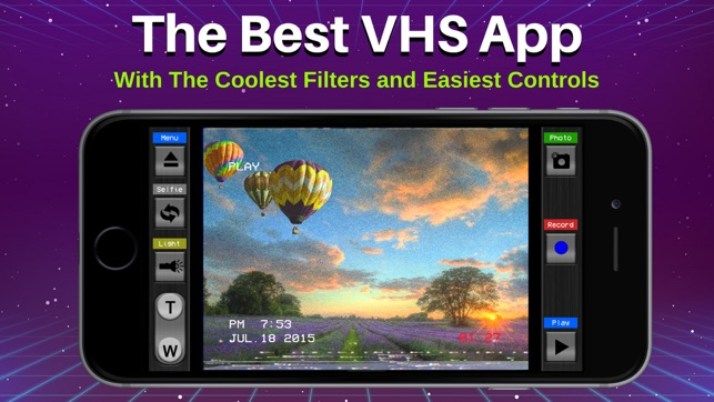 Retro VHS Old School Camcorder on the App Store