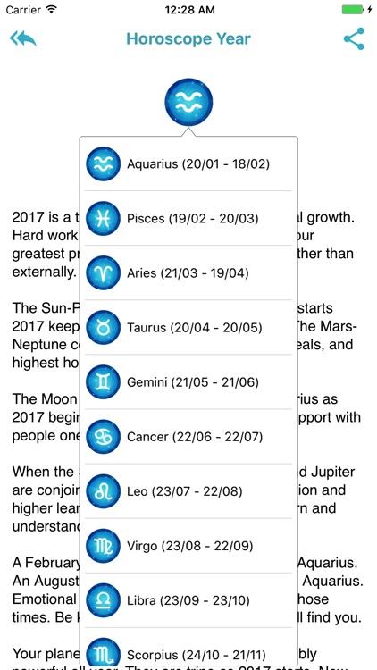 Horoscope 2018 - Daily screenshot-4