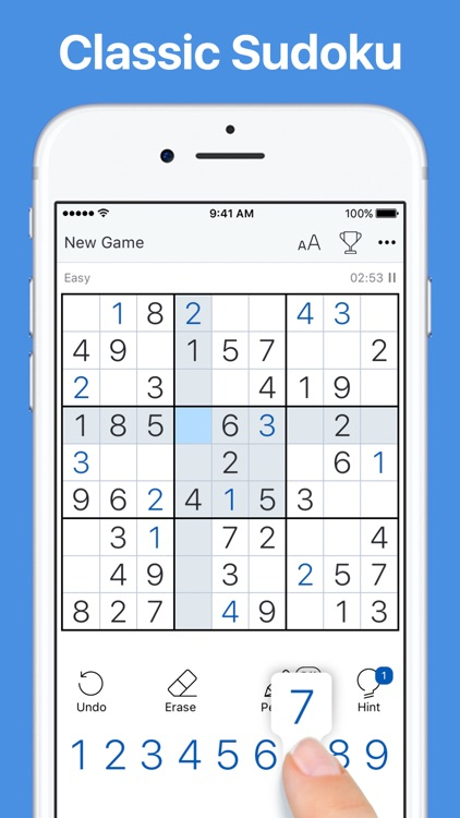 Sudoku - Classic Logic Game screenshot-0