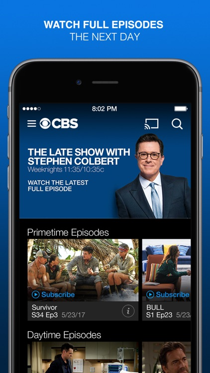 CBS Full Episodes and Live TV screenshot-0