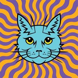 Electric Catnip Stickers