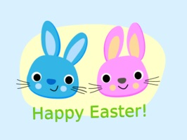 Easter Bunny & Egg Stickers