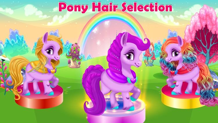 Rainbow Pony Horse Makeover screenshot-6