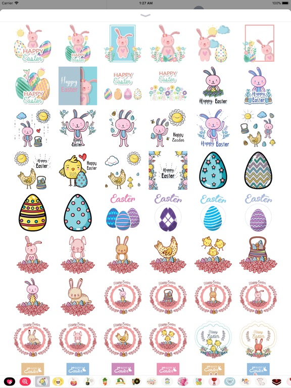 Happy Easter Day Stickers screenshot 8