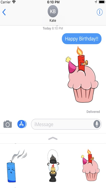 Candle Stickers screenshot-3