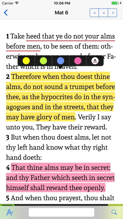 K.J.V. Holy Bible