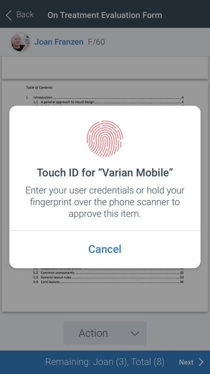Varian Mobile screenshot-5