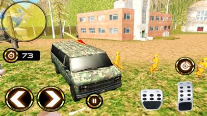 Army Criminal Transport Van 3D Скриншоты5