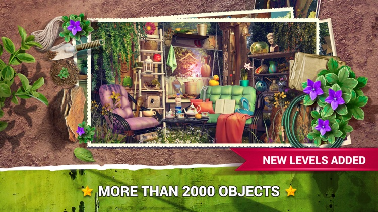 Hidden Objects Gardens Game.s screenshot-2