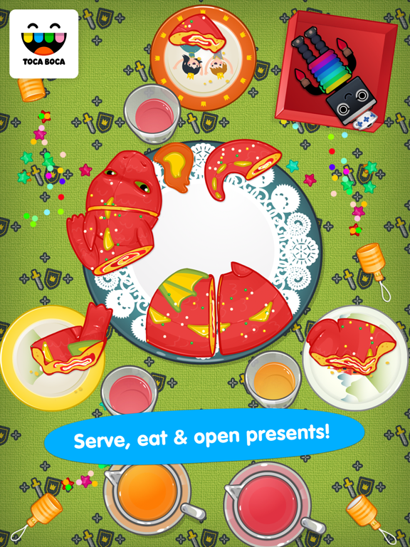 Toca Birthday Party screenshot