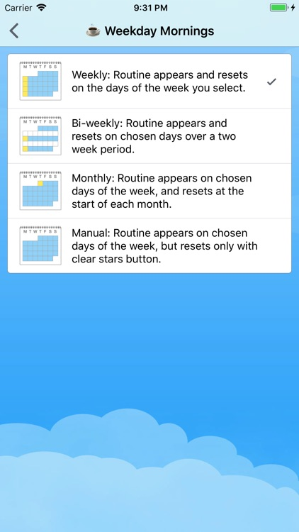 Home Routines screenshot-2