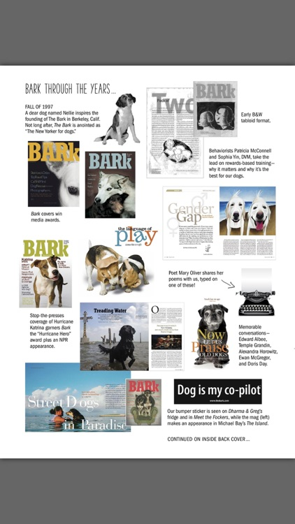 The Bark: dog culture magazine screenshot-1
