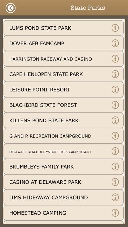 Delaware -Trails & Camps ,Park screenshot-4