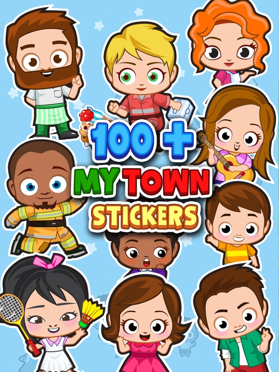 My Town : Sticker Book screenshot 7