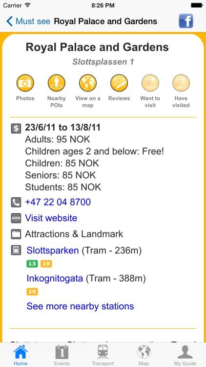 Oslo Travel Guide Offline screenshot-4