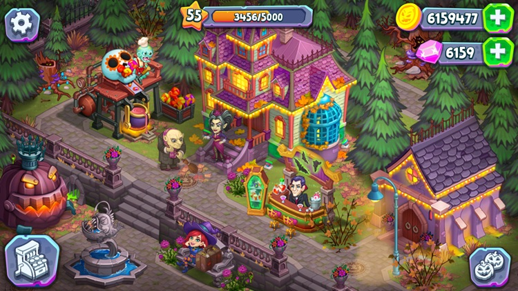 Monster Farm: Happy Halloween screenshot-5