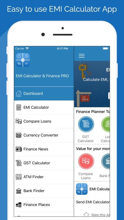 EMI Calculator & Finance PRO