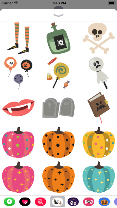 Lovely Halloween Stickers screenshot 3