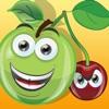 活躍! 子供のためのゲームは学び、フルーツと遊ぶ