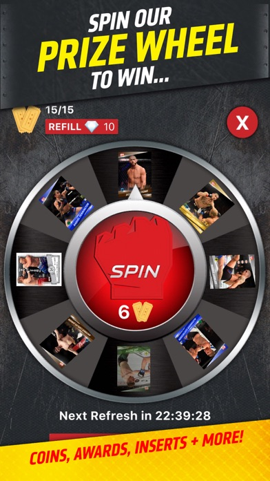 UFC KNOCKOUT: MMA Card Trader app image