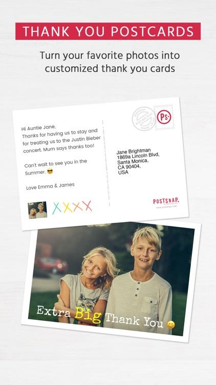 Postsnap: The Postcard App