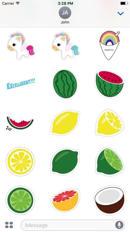 Enjoy Summer Stickers screenshot-4