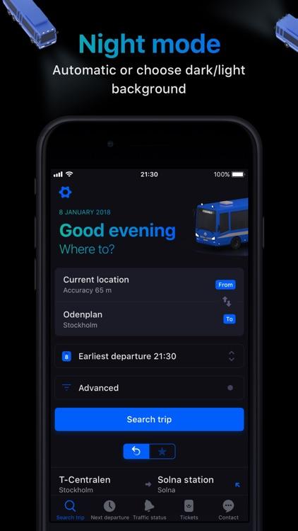 Res i STHLM:SL journey planner screenshot-3