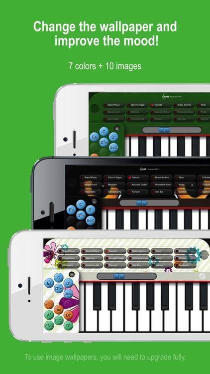 Piano+ - Playable with Chord & Sheet Music screenshot-3