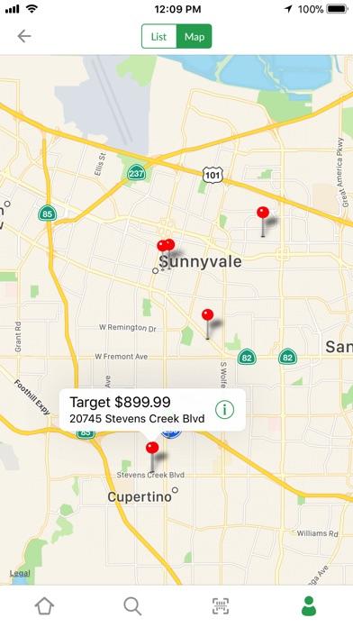 Shop Savvy Barcode Scanner app image