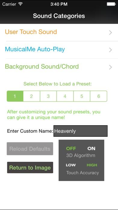 MusicalMe Images Pro Version Screenshots