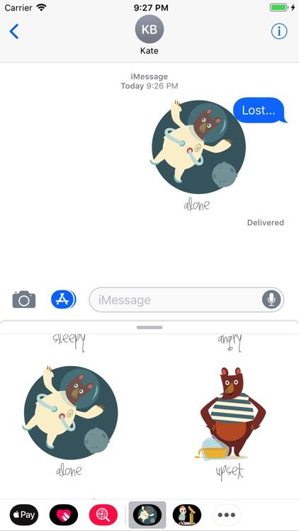 Mate Bear Stickers