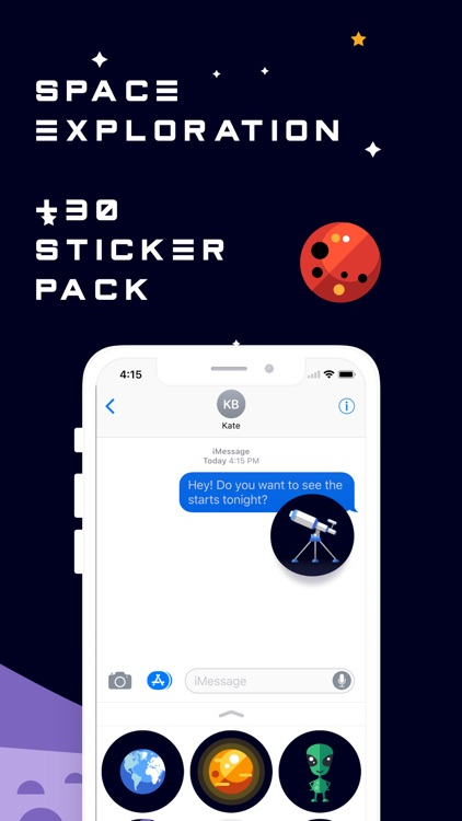 Space Sticker Collection screenshot-3