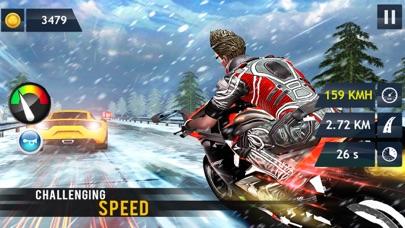 In Moto Racing Adventure screenshot one