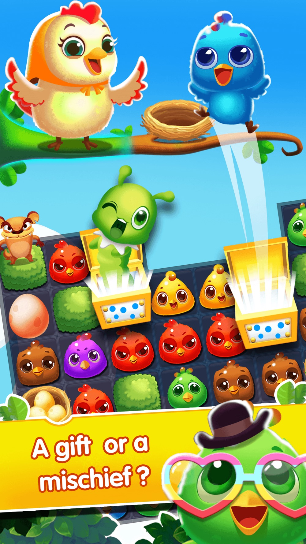 Chicke Splash 2-Match,Collect and Crush! hack tool