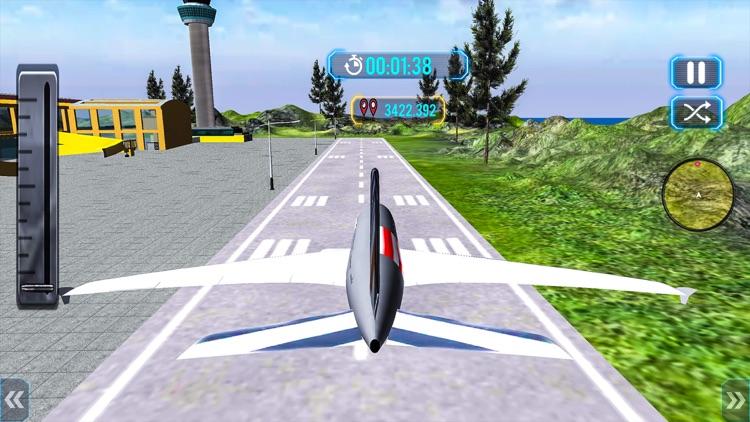 Tourist Airplane Flight Sim 3D