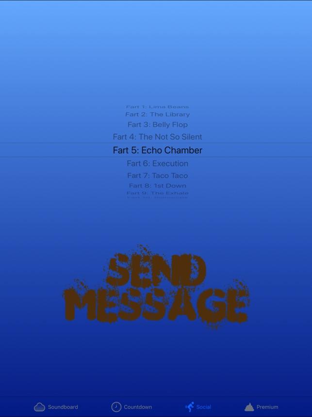 Send a fart text message