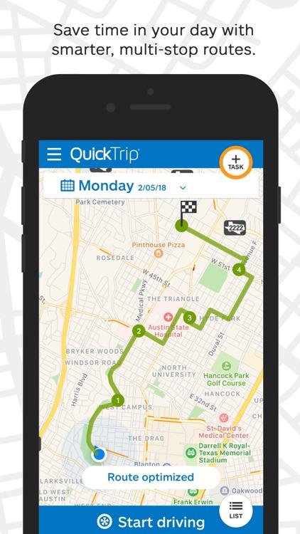 QuickTrip® Route Planner screenshot-0