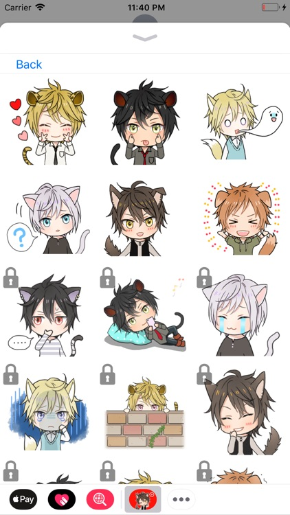 Animated Anime Stickers screenshot-2