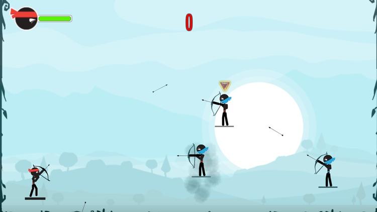 The Stickman Archers - shooting games screenshot-3