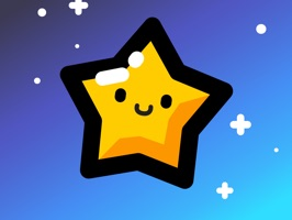 Happy Animated Star Stickers for iMessage
