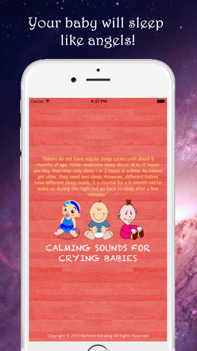 Calming Sounds For Crying Babies