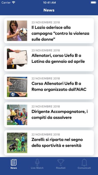 iLND Lazio screenshot two