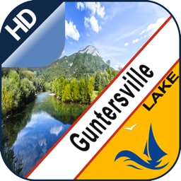 Guntersville  Lake gps offline chart for boaters
