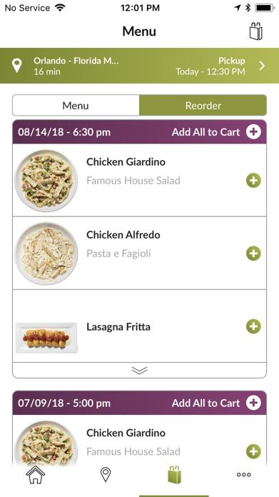 Olive Garden Italian Kitchen Screenshot