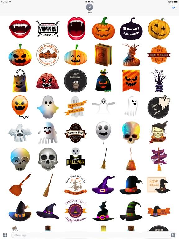 Halloween - Realistic Elements + Badge + Quotes screenshot 6
